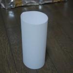 アルミホイル煙突の型紙的な