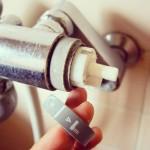 シャワーと蛇口の切り替えインデックスを外した