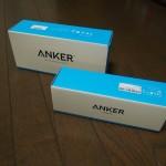 Anker製 スピーカー2種類