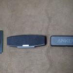 Anker製 スピーカー大きさ比較
